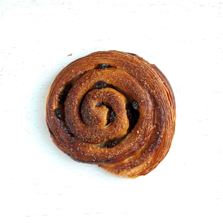 Økologisk snegl fra Mirabelle Bakery. Organic snail from Mirabelle Bakery.