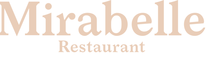 Mirabelle Restaurant logo.